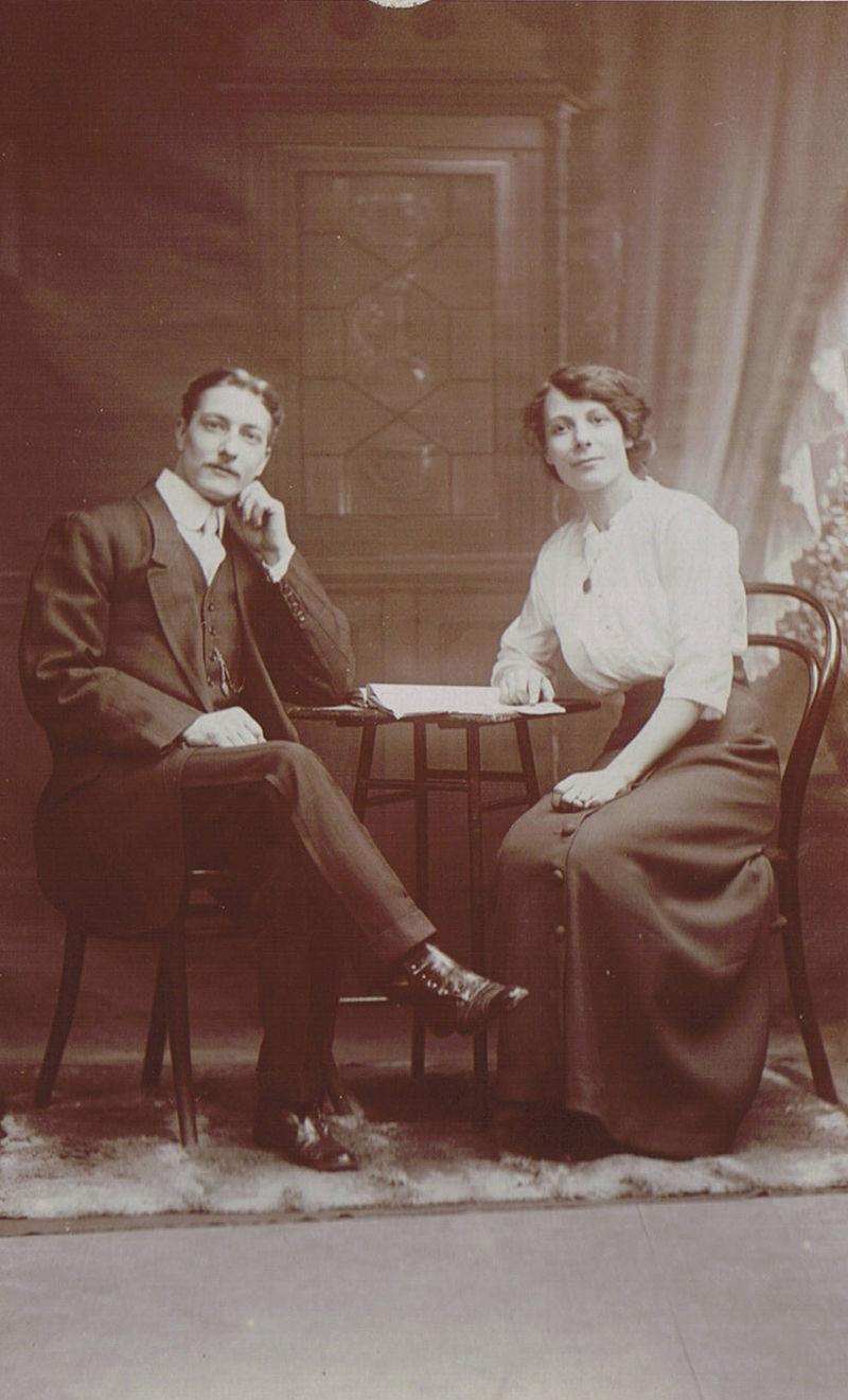 Annie Seaman & Husband