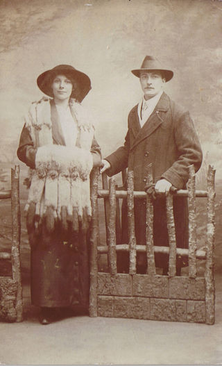 Annie Seaman and husband