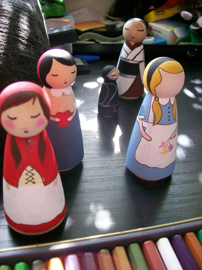09 04 05 WIP dolls
